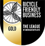 Bicycle Friendly Business Gold Seal