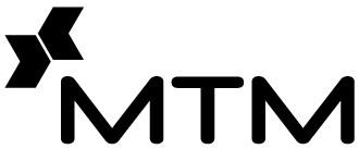 MTM logo black and white