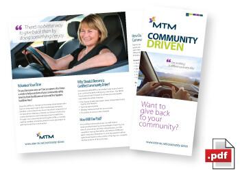 Certified Community Driver Brochure
