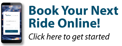 Book your next ride online! Click here to get started.