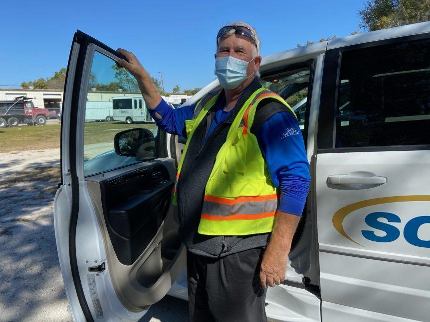 COVID-19 Vaccination transportation Sarasota