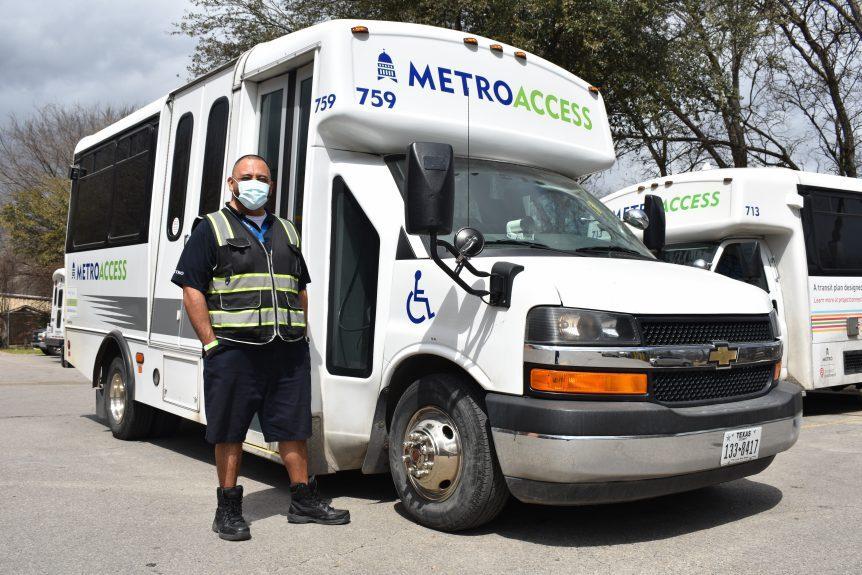 Capital Metro MTM Transit driver