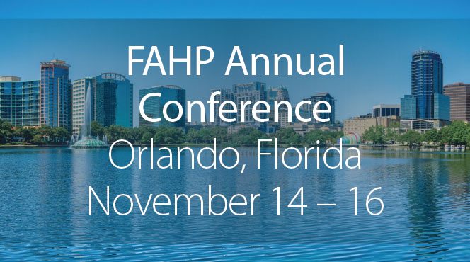 MTM will be at the FAHP conference in November.