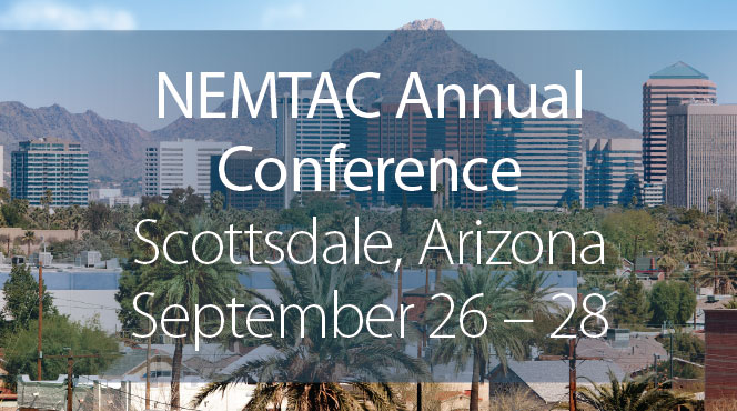 MTM will be at the NEMTAC conference in September.