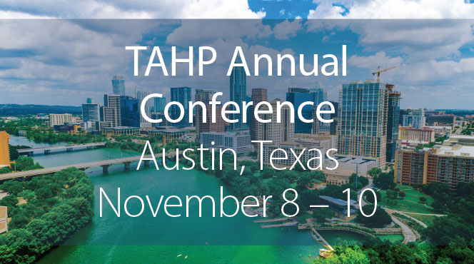 MTM will be at the TAHP annual conference in November.
